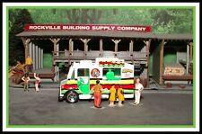 (1983) Hot Wheels _ HO Scale _ Good Humor Truck / Rasta Fruits and Veggies