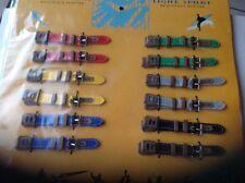 Lot De 12 Bracelets De Montres Enfants En Tissu