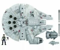 Star Wars Mission Fleet Millennium Falcon Han Solo 2.5-Inch-Scale IN HAND