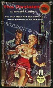 """1959 Science fiction pulp """"the Deviates """" with sexploitation cover art  renamed"""