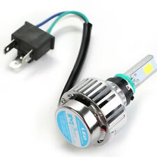 4000LM 34W H6 H4 Hi/Lo LED Motorcycle Headlight Bulb moto Fog Light BA20D 6500K