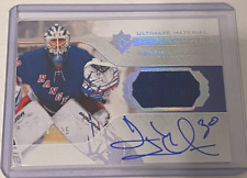2019-20 Ultimate Collection Ultimate Material Signatures Henrik Lundqvist /25