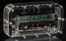 BESTSELLER 100% ASSEMBLED Nixie tube clock IV-18 VFD ice tube clock vintage art