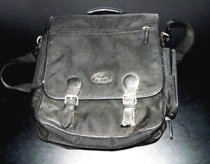 """Samsonite 14"""" Laptop Bag Work School W/ Shoulder Strap Padded & Pockets Canvas"""