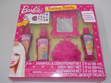 Barbie Bathing Beauty Bath Set Shampoo Body Wash Girls Gift Set