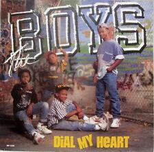 "The Boys - Motown - DIAL MY HEART - Promo Vinyl 7"" Single - NM [1988]"