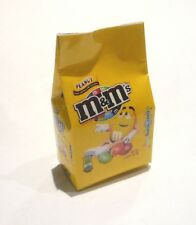 "M&M Mini Peanut Yellow Bag FRIDGE MAGNET Novelty Indonesia 3D M&M's 2"" Tall"
