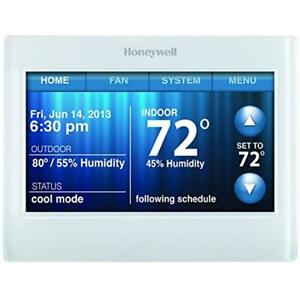 TH9320WF5003 Wi-Fi 9000 Color Touch Screen Programmable Thermostat, 3.5 X 4.5
