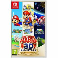 Super Mario 3D All-Stars - Nintendo Switch [3 HD Games Sunshine Galaxy 64] NEW