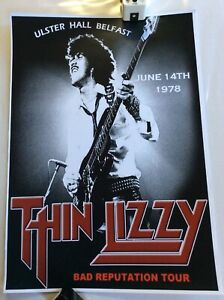 Thin Lizzy  Poster (29.5cm x 42cm) (thick Card)