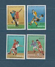 Comores république  coupe du monde de football   1986  poste aérienne  **