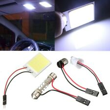 Panel T10 Festoon BA9S 24 LED COB Luz COCHE Interior Adapter Light Blanco DC 12V