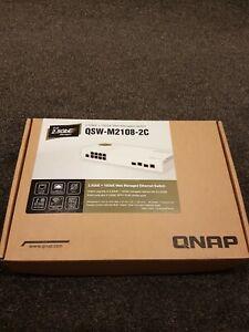 QNAP QSW-M2108-2C 10 Port Switch