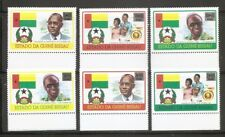 Guinea-Bissau SC # 354-359 Amilcar cabral 51st Anniversary. MNH