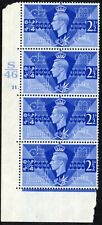 1946 Sg 491 2½d blue Victory Control S46 Cylinder 11 (Dot) Unmounted Mint
