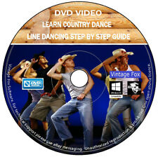 Beginners Step By Step Easy Guide Line Dancing Learn Country Dance DVD Video +