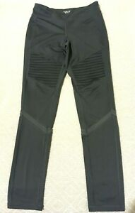 Old Navy Active Go-dry Moto Girls Leggings Sz XL (14) Dark Grey