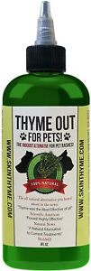 THYME OUT for Pets Natural Dog and Cat Itch Relief & Skin Treatment - 8 fl.oz