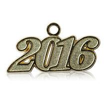 NEW 2016 Gold Tone Graduation Tassel Charm for Cap or Chain