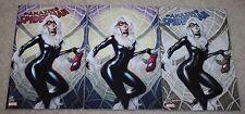 AMAZING SPIDER-MAN 25 ARTGERM BLACK CAT VIRGIN COPIC BUNDLE VARIANT 3-PACK HOT!