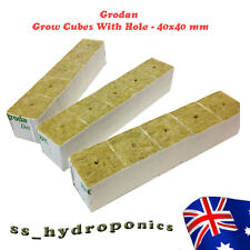 Hydroponics Grodan Rock Wool Grow Cube Cubics 40x40mm Grow Medium 30 units
