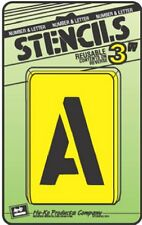 """Assorted 3"""" Number & Letter Stencils by Hy Ko ST-3 NEW"""