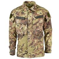 Genuine Italian army Rip Stop Vegetato camo ACU jacket combat field shirt Blouse