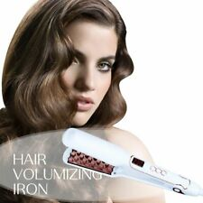 Hair Straightener Volumizing Iron Flat Digital Lcd Display Electric Style Lifter