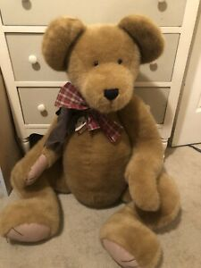 "Retired Boyds Bears ""Nana Bearhugs"" Jointed Jumbo 40"" Bear ~ Archive Collection"