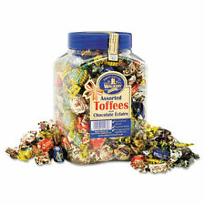 Office Snax Assorted Royal Toffee Candy - Assorted - Resealable Jar - 2.75 lb -
