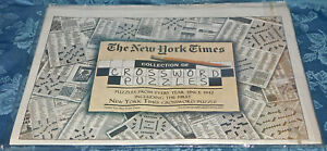 Collection Of Crossword Puzzles New York Times, Every Year 1942-2011 SEALED Gift