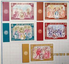 "Isle Of Man ""Age Of Rebellion"" Mnh Stamp Set"