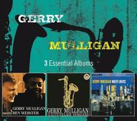 GERRY MULLIGAN - 3 ESSENTIAL ALBUMS  3 CD NEW+