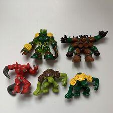Bundle of 5 Gormiti  Figures - Rare