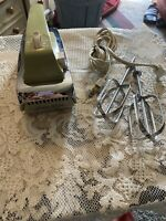 Vintage Grant Maid Supreme MCM Hand Mixer Beater Stainless Steel Green R-6A 1969