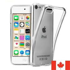 For iPod Touch 5 | 6 | 7 Case - Clear TPU Transparent Cover 5th 6th 7th Gen