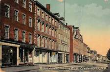 Fredericton New Brunswick Canada west on Queen St by Tuck antique pc Z18080