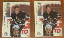 1998-99 SP AUTHENTIC FUTURE WATCH #104 DANIEL BRIERE RC /2000 2 CARD LOT !!!!