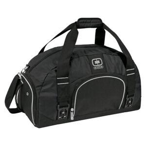 New OGIO Large Black Shoulder Strap Dome Gym Sport Bag