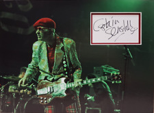 CAPTAIN SENSIBLE Signed 40x29cm Photo Display THE DAMNED COA