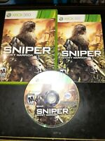 Sniper: Ghost Warrior (Microsoft Xbox 360, 2010) *BUY 2 GET 1 FREE +FREE SHIP*