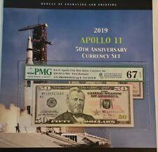 2019 Apollo 11 50th Anv Currency Set PMG 68 EPQ PMG ERROR 》read description《ap4