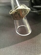 Vintage Retro Mid Century Modernist Brutalist Sterling Silver Pyramid Mod Ring
