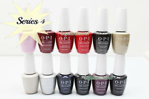 Gel Polish OPI GelColor Soak Off Nail Colours 15ml 0.5oz Choose Any * Series 4