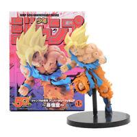 DRAGON BALL Z - Goku Super saiyan Jump 50th Anniversary Action figure 20 cm.