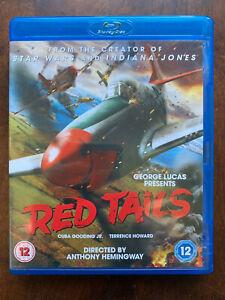 Red Tails Blu-ray 2012 George Lucas True Life World War II Fighter Pilot Movie