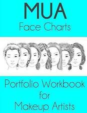 NEW MUA Face Charts Portfolio Workbook for Makeup Artists by Sarie Smith