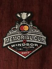 2017 Mastercard Memorical Cup Patch Windsor Spitfires for Jersey CHL OHL