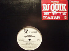 "DJ QUIK + NATE DOGG - WHAT THEY THINK (12"")  2003!!!  RARE!!!"