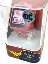 iTouch Wonder Woman Girls Play Zoom Kids Smartwatch Games Interactive Pink